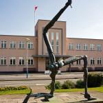24 Legs of Mann Sculpture, Ronaldsway