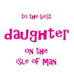 APRIL 8 ~ DAUGHTER